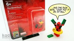 I won a thing! (Kadigan Photography) Tags: lego minifigure sandiego comiccon exclusive 2017 deadpool duck