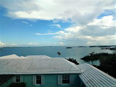 A GREAT VIEW OF BERMUDA ISLANDS (Visual Images1) Tags: roofs islands sea bermuda