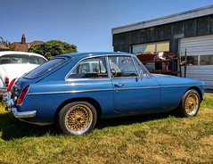 IMG_20170717_084725_177 (valvecovergasket) Tags: mgb mgbgt 1967 british coupe miata swap hoshino impul mesh