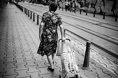 shopping (gato-gato-gato) Tags: 35mm bg bulgaria contax contaxt2 iso400 ilford ls600 noritsu noritsuls600 ostblock sofia strasse street streetphotographer streetphotography streettogs t2 analog analogphotography believeinfilm film filmisnotdead filmphotography flickr gatogatogato gatogatogatoch homedeveloped pointandshoot streetphoto streetpic tobiasgaulkech travel wwwgatogatogatoch българия софия sofiacity bulgarien black white schwarz weiss bw blanco negro monochrom monochrome blanc noir strase onthestreets mensch person human pedestrian fussgänger fusgänger passant autofocus urlaub ferien reise adventure
