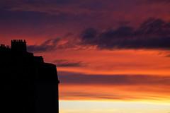 IMGL3898_DxO (baptisteflageul) Tags: couchedesoleil sunset soir evening soleil sun nuages clouds cloudporn ciel sky skyporn orange rouge red jaune yellow wow nature paysage landscape bleu bluehour blue paris france urbain urban