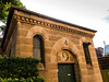 Danger inside (Andy Peyton) Tags: danger death sandstone building old warning morgue convict prisoner early sydney colony