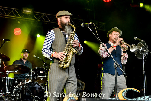 The Baghdaddies at Nozstock 2017
