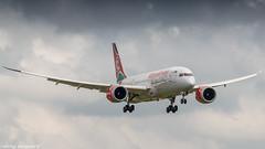 Kenia Airways 787-8 on short final for runway 27 (Nicky Boogaard) Tags: boeing airbus aviation dmaviation aircanada klmcityhopper aa americanairlines kalittaair deltaairlines 787 dreamliner easyjet a319 747 freigther 747400 777200 77w 7878 7879 embrear e175 jetairways united keniaairways