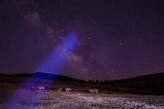 Sweet summer night (kiko-photo) Tags: milky way stars night corporales cabrera spain león camp