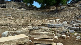TEOS (Teo) Ancient City   Sigacık/Turkey. Theatre