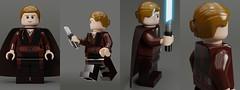 Lego Anakin Skywalker - Padawan (Erik Petnehazi) Tags: lego blender star wars minifigure figures custom man render cycles 3d cg episode 1 toy padawan jedi anakin skywalker chosen one legs attack clones