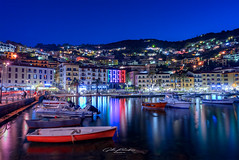 Porto Santo Stefano (Gilles Bourdreux Photography) Tags: porto stefano italie toscane tuscany toscana reflets reflections mer bateaux batiments urbain urban europe long exposure cityscape seascape lumières port travel voyage abigfave