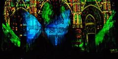 1 - Tours, Les illusions de la cathédrale (melina1965) Tags: juillet july 2007 centrevaldeloire indreetloire tours nikon d80 église églises church churches lumière light nuit night
