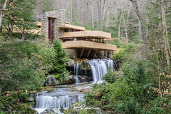 Falling Water (Nikon Blair) Tags: travel fallingwater franklloydwright architecture pennsylvania