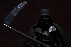 Vader - c'mon baby, don't fear the reaper (Mac Spud) Tags: scythe lowkey death reaper vader darthvader starwars