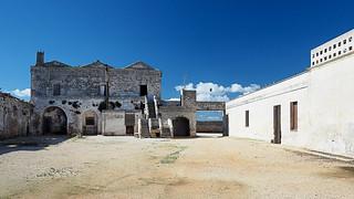 Deserted masseria in Puglia