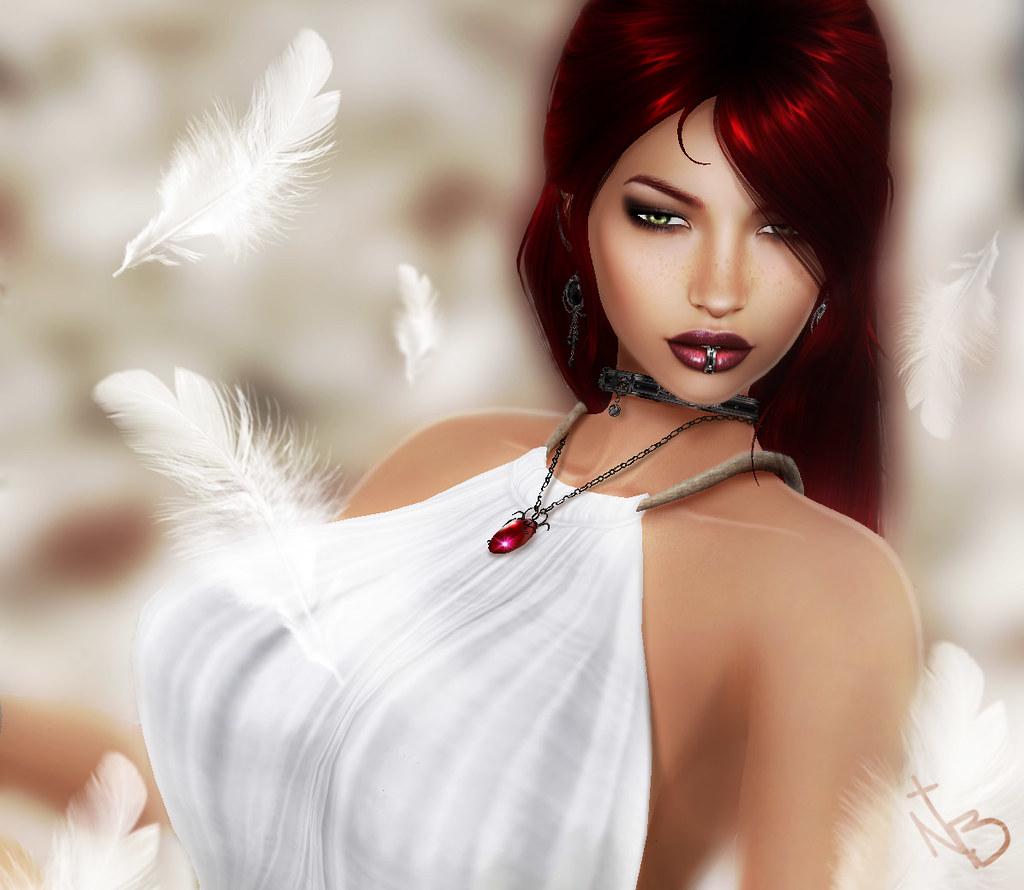 Goth redhead sexy