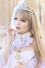 Kotori Minami Wedding - Love Live! (Florent Joannès) Tags: shooting shoot photo photography portrait photographie modeling mode marseille makeup wig irina kotori minami lovelive manga cosplay 50mm 2017