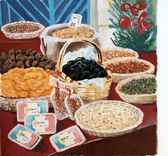 13 desserts-gouache (sainte rita) Tags: détail objet