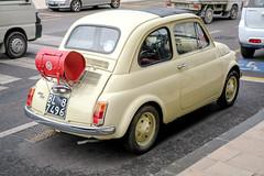 Happy Birthday, Fiat 500! (Werner Schnell Images (2.stream)) Tags: ws fiat 500 cinquecento venezia venedig venice lido anniversario 60 jahre 60th anniversary ikone