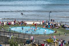 pond (pamelaadam) Tags: august thebiggestgroup summer fotolog digital 2016 holiday2016 people sea filey engerlandshire luration