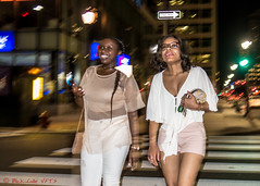 Matching Colors (ViewFromTheStreet) Tags: allrightsreserved blick blickcalle blickcallevfts calle copyright2017 marketstreet oneway pennsylvania philadelphia photography republicbank stphotographia streetphotography viewfromthestreet amazing bracelet candid cell classic crosswalk female firehydrant flash girl keys midriff mobile night nightflash phone ponytail pretty purse rings shorts sign smile smiling street streetportrait vftsviewfromthestreet woman ©blickcallevfts ©copyright2017blickcalle