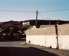 Nantymoel, Wales, 2016 (Dan_wood) Tags: mamiya7 mediumformat danwoodphotography documentaryphotography documentingbritain contemporaryphotography colorfilm colorphotography thevalleys thebwlch kodakportra160 kodakportra filmphotography filmisnotdead nantymoel newtopographics wales welshphotography welshphotographers britishphotography britishphotographers