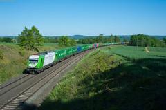 Größtenteils grün! (korbinian.eckert) Tags: er20 siemens eurorunner setg container containerzug
