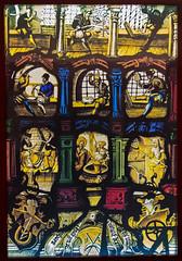 Thomas-Müntzer-Stadt Stolberg/Harz (Helmut44) Tags: deutschland germany sachsenanhalt mitteldeutschland stolberg harz südharz museum altemünze glasfenster münzstätte glasmalerei historisch kunstwerk workofart