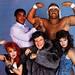 Muhammad Ali, Hulk Hogan, Cyndi Lauper, Liberace, and Wendi Richter