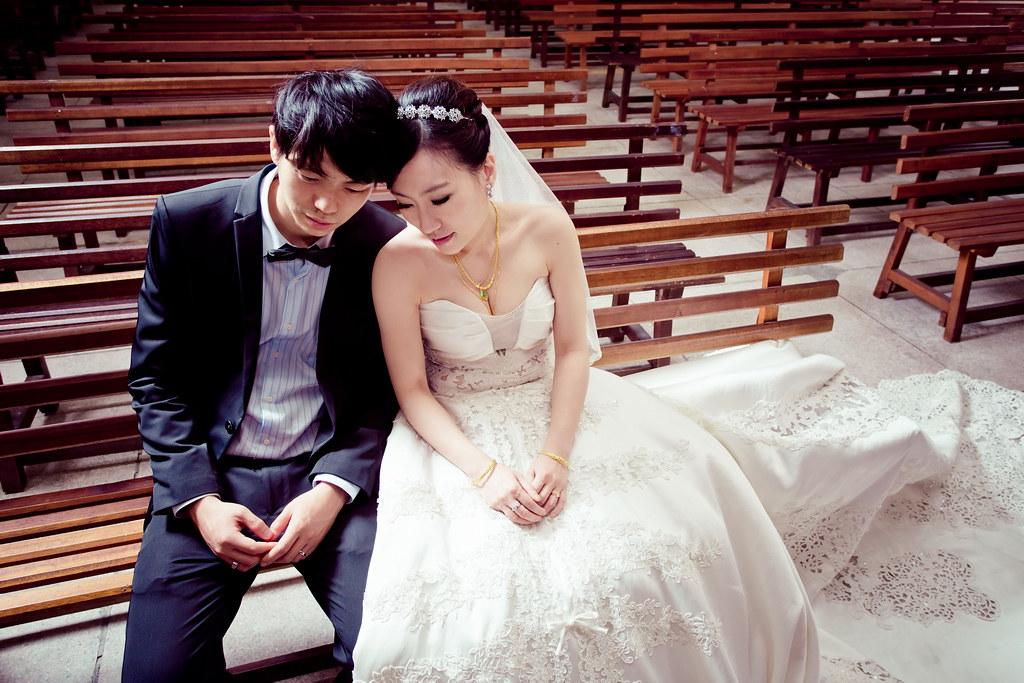 任廷&姿妤、婚禮0407
