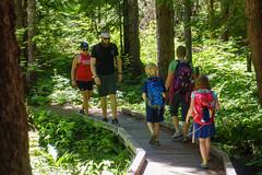 trillium lake family hike (dolanh) Tags: hiking mthoodwilderness oregon hikers trilliumlake