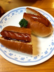 Lunch (Yorkey&Rin) Tags: 2017 7月 cafe hotdog img0974 iphone6 japan july lunch machida smartphone カフェ ホットドッグ ランチ