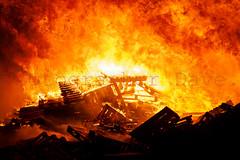 Raging Inferno. (Photographer Dave C) Tags: bangor bonfire fire canon colour canonofficial creative canon40d creativephotography cool awesome stunning summer flames 2017 11th night photography photographerdave passion photograph photographer people