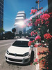 May Flowers (ahh.photo) Tags: city spring street flower travel car urban architecture tree road building modern vehicle outdoors daylight business luxury no person golf orlando downtown vw volkswagen central district transportation system