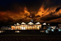 Glorious Festival Theatre (fool's itch) Tags: sky clouds sunset dusk dramatic glorious architacture theatre festivaltheatre startford on landscape lightandshadow composite nikon d7100