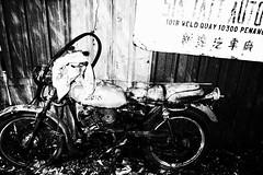 R0020655 (kenny_nhl) Tags: ricoh road grd grdiv grd4 provoke street streetphotography snap shot scene surreal visual 28mm monochrome malaysia black blackwhite bw blackandwhite dark light life flash night explore explored photo photography streephotography