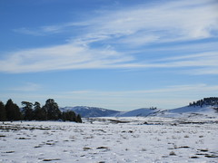 Snow fields and blue sky, Middle Atlas near Azrou, Morocco (Paul McClure DC) Tags: middleatlas morocco jan2017 almaghrib ifrane azrou mountains winter scenery snow northafrica