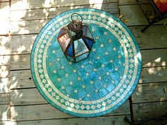 Un petit coin marocain (jeffandcompagny) Tags: maroc morroco var toulon colors jardin green blue bleu vert vacances