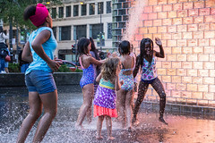 Youth (dharder9475) Tags: 2017 5star candid children crownfountain highspeed light millenniumpark motion people playing privpublic splash strangers streetphotography water