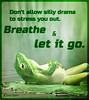Popular inspirational quotes at EmilysQuotes (SpiritualCleansing) Tags: advice breathe dontallow drama letitgo lettinggo peace sillydrama stress unknown
