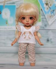 DSC07420 (ekaterinaC1) Tags: pukifee doll bjd fairyland tan cony