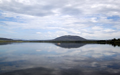 Búrfell (sigfus.sigmundsson) Tags: iceland búrfell lake mountain álftavatn boat rowing