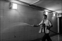 DR150605_157D (dmitryzhkov) Tags: crossing crosswalk tunnel corridor underground worker work job employee cleaner motion movement sony alpha black blackandwhite bw monochrome white bnw blacknwhite bnwstreet one lowlightshot low lowlight art city europe russia moscow documentary journalism street streets urban candid life streetlife citylife outdoor outdoors streetscene close scene streetshot image streetphotography candidphotography streetphoto candidphotos streetphotos moment light shadow people citizen resident inhabitant person portrait streetportrait candidportrait unposed public face faces eyes look looks man men