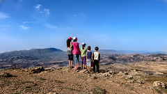 Natural balcony! (AnouarDZ) Tags: montagne mountain child nature bluesky fujifilm fujinon xt1 algeria setif megress rocks roches xf18135mm