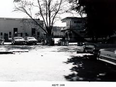 Menlo Park 1968: Merrill Street (menloparkplanning) Tags: mp1968downtownecr 1968 menlopark california sanmateocounty historicalphoto historical scannedphoto