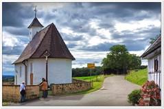 Kapelle von Bärenbach (Don111 Spangemacher) Tags: himmel sommer dorf kapelle badenwürttemberg schwäbischealb landschaft gebäude reisen romantik