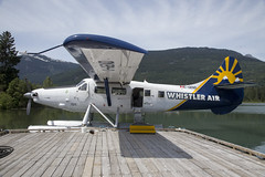 Harbour Air seaplane DHC Otter C-GEND, Whistler, British Columbia, July 2017 (Rochdale 235) Tags: canada bc britishcolumbia flight plane aeroplane seaplane glaciers whistler harbourair sea otter dhc whistlerair glacier mountain mountains