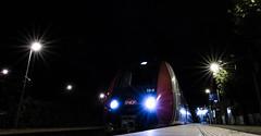 Ligne H, Paris, France (aureliemourlon) Tags: sncf ligneh idf nikond3300 nuit etoile quai gare platform z50000 francilien railroad