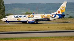 TC-SOH (Breitling Jet Team) Tags: tcsoh sunexpress minions livery euroairport bsl mlh basel flughafen
