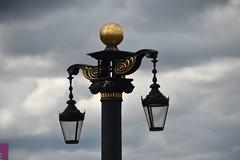 Lamp Post at Aston Cross, Birmingham. (Manoo Mistry) Tags: nikon nikond5500 tamron18270mmzoomlens tamron lantern lamp lamppost sky birminghampostmail birminghamuk birmingham westmidlands