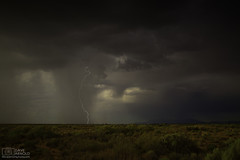 Simple calculation (Dave Arnold Photo) Tags: nm nmex newmex newmexico loslunas manzano mountains range lightning lightening desert storm stormy thunderstorm thunder image pic us usa picture severe photo photograph photography photographer davearnold davearnoldphotocom rainbow scenic cloud rural party summer badweather top wet daylight canon 5d mkiii 24105mm huge big valenciacounty socorrocounty landscape nature monsoon outdoor weather rain rayos cloudy sky cloudburst raincolumn rainshaft season southwest monsoons strike albuquerque abq