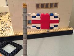 How to make a lego british flag (vid. In desc.) (Brick Lieutenant) Tags: lego cool flickr ww1 ww2 british flag pretty