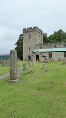 20170716 Wlk frm Brassington_0028 Bradbourne~Saxon Cross~All Saints Church (paul_slp5252) Tags: derbyshire bradbourne saxoncross allsaintschurch